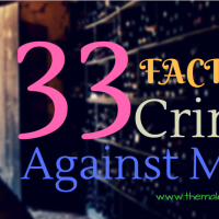 No One Will Tell You These 33 Facts About Crime Against Men