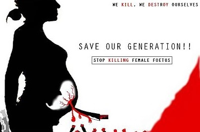 Female Feticide, foeticide, killing of foetus