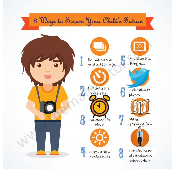 8 Ways to secure your child's future