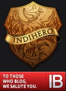 Indihero badge