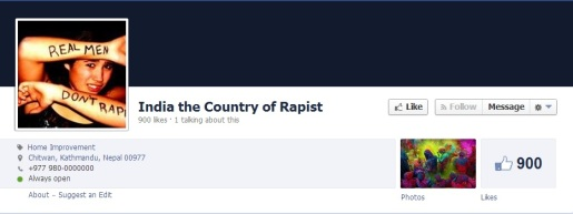 India the country of rapists