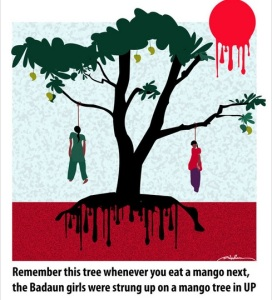 Mango tree of shame, Badaun Rape