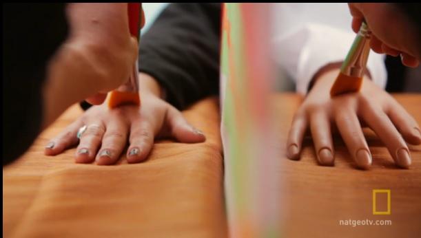 Mind Control - Rubber Hand experiement