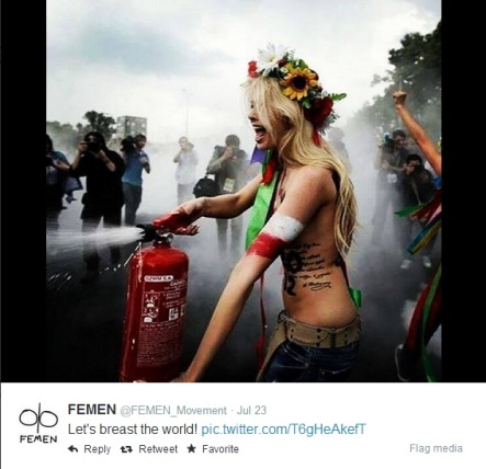 Femen - Breast the world