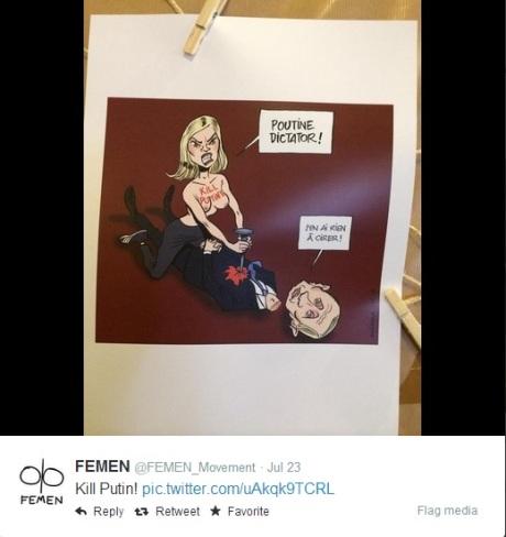 Femen - Kill the Putin