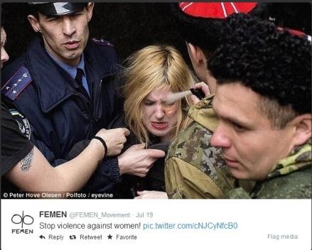 Femen - Stop violence against women