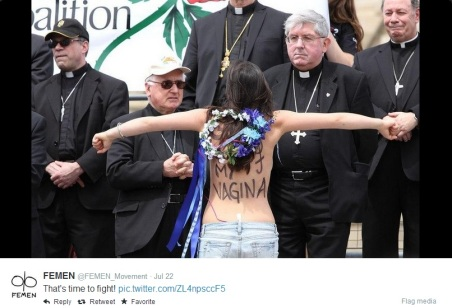 Femen - Time to Fight against church