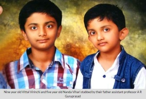 ICFAI professor killed his children