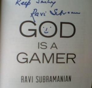 God is a Gamer by Ravi Subramaniyam