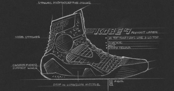 Engineering of Kobe 9 Elite