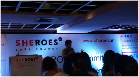 Facebook India MD, Krithika Reddy at Sheroes Bangalore summit