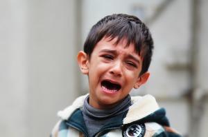 Boy crying, Boy