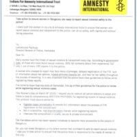 Amnesty International Spreading Misandry