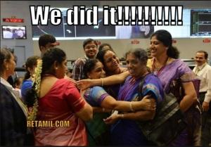 Women scientists from ISRO