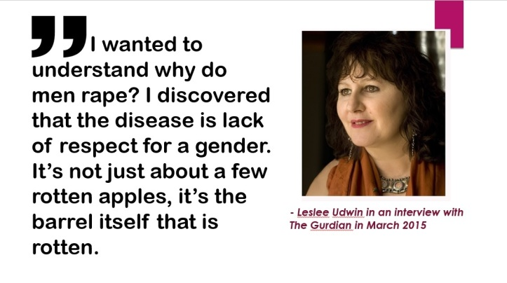 Leslee Udwin on Indian men and rape
