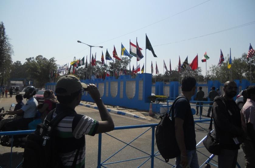 Aero India Show Entrance