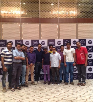 Arjun Rampal at the launch of Nivea Body Deodrizer