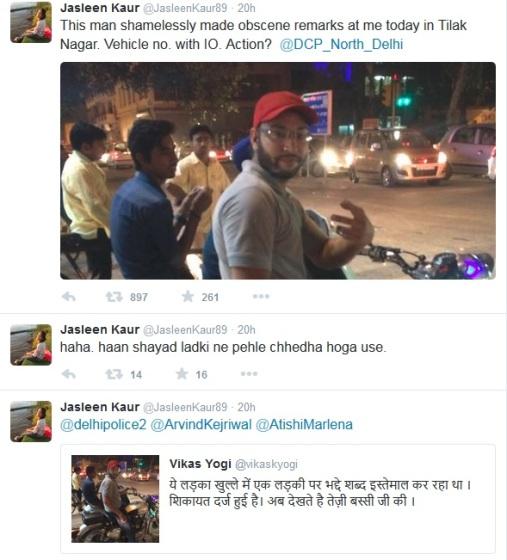 Jasleen Kaur Tweet 2