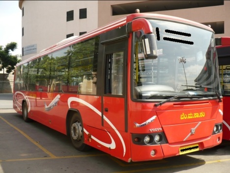 BMTC Volvo bus
