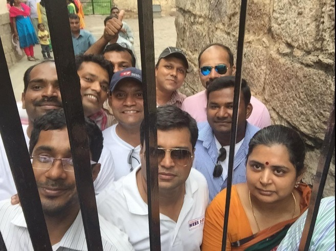 Selfie in Prison in Hyderabad