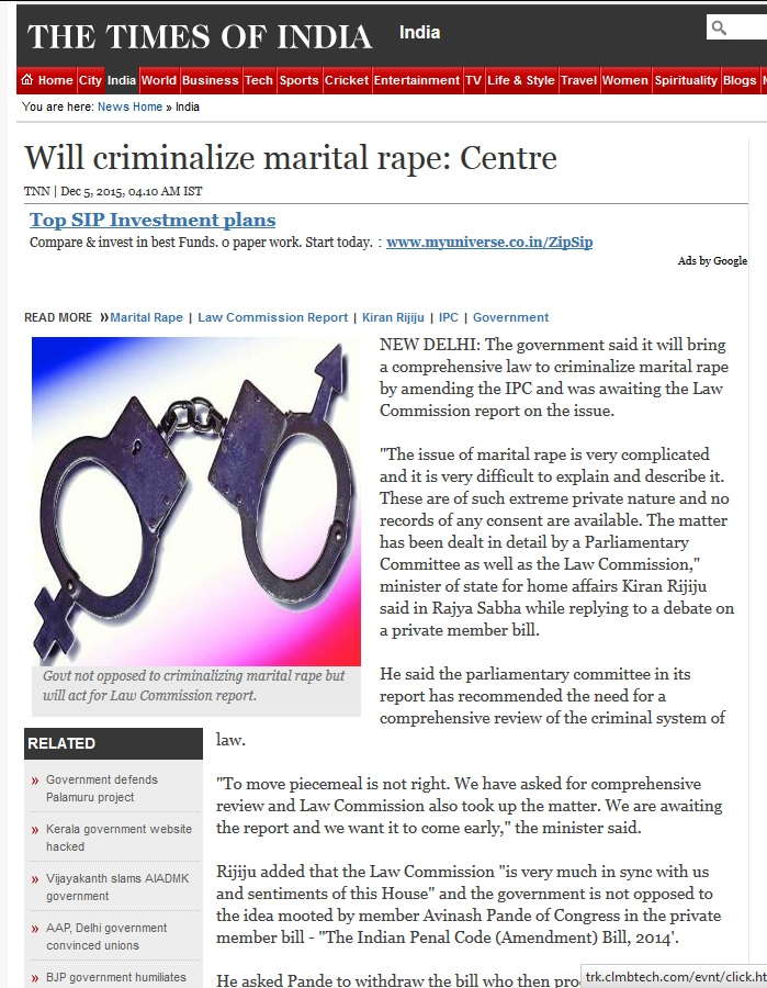 Criminalize Marital Rape