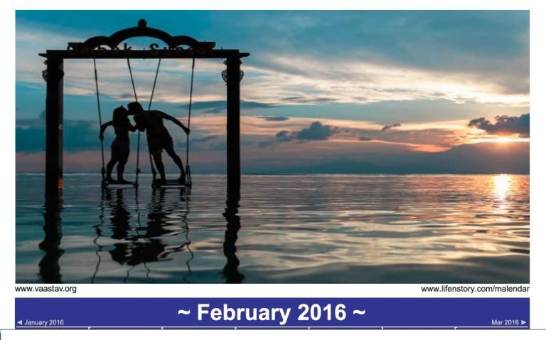 Malendar - February