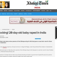 This is how Indian media has created rape story of 28 day old baby from UP