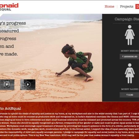 Actionaid campaign