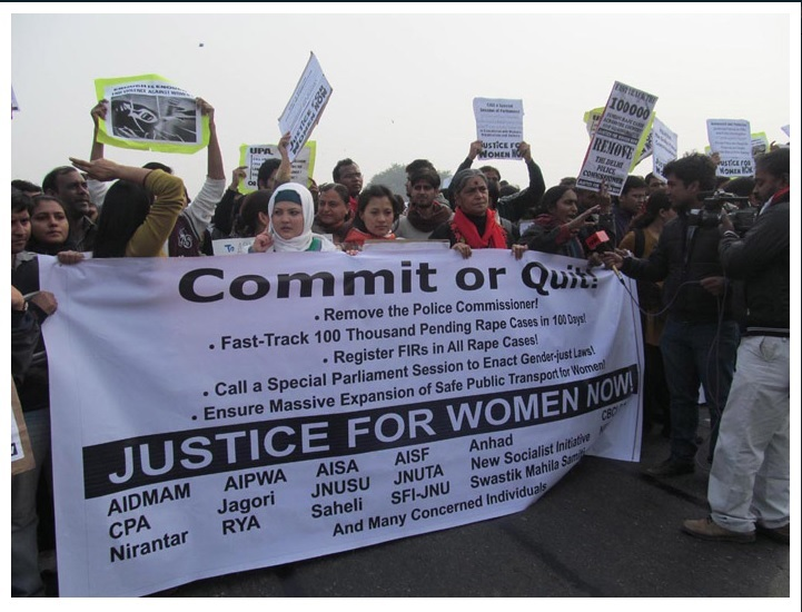 Nirbhaya Protest by ISD3