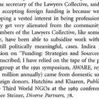 Here is the funding details of Indira Jaisingh's NGO Lawyer's Collective (LCI)