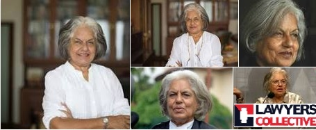 Lawyers' Collective, Indira Jaisingh