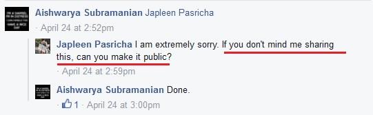 Aishwarya Post public