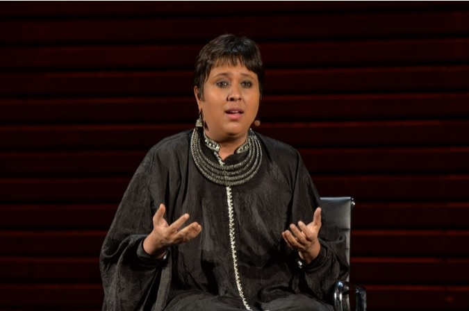 Barkha Dutt and Women in the World summit