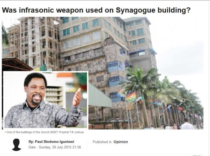 Infrasound demolition