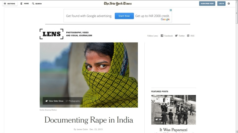 Documenting Rape - NY Times