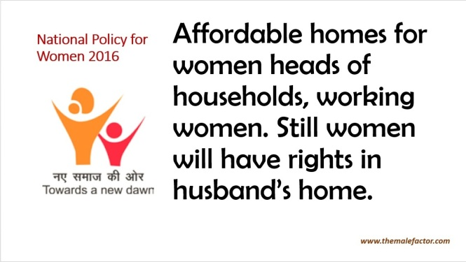 National Policy For Women - Affordable Home