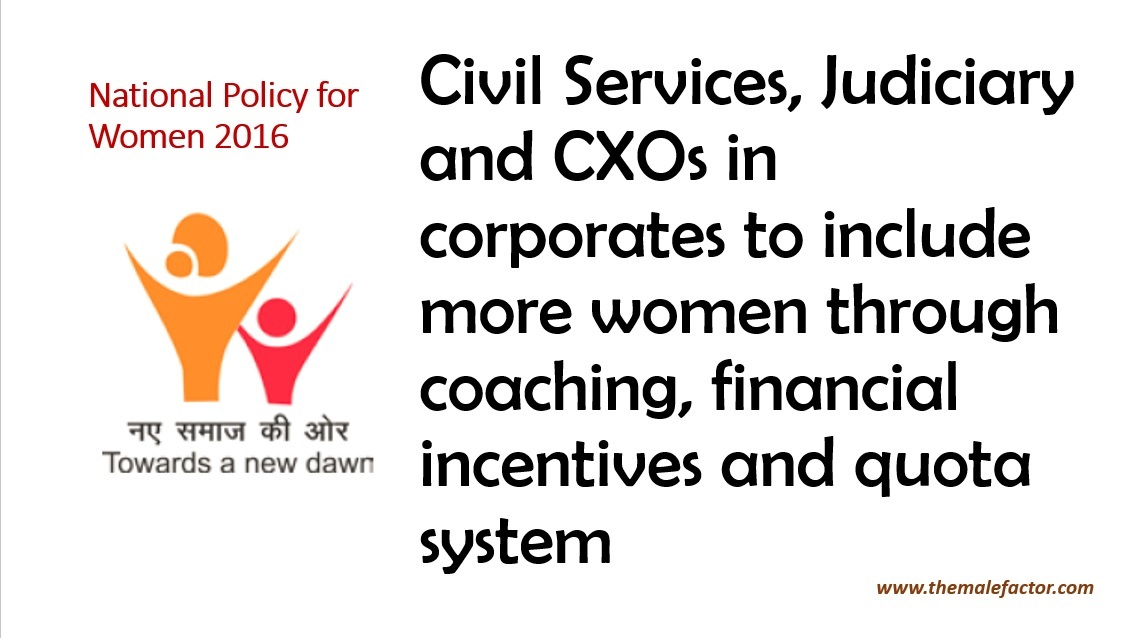 National Policy for Women_Quota