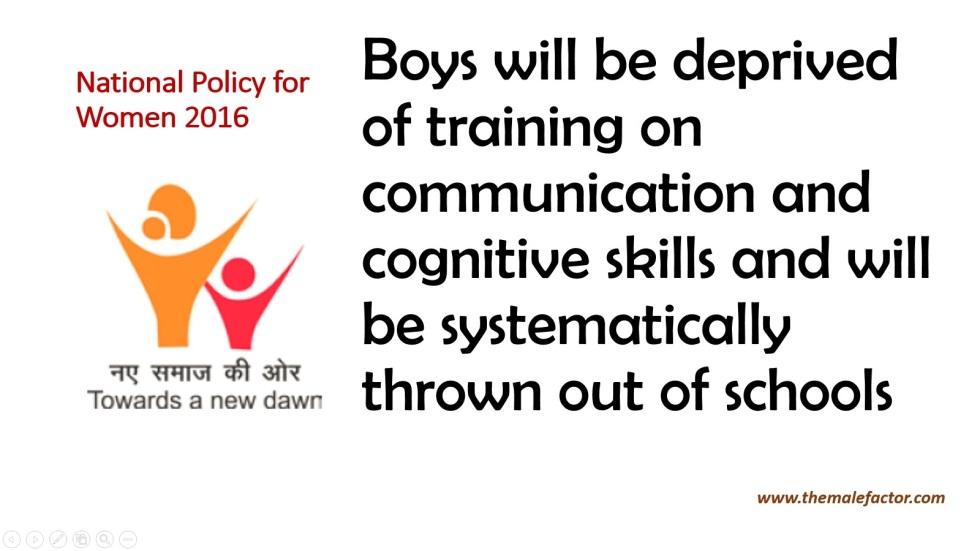 National policy for women_BoysEducation
