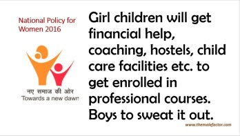 National policy on women_Education