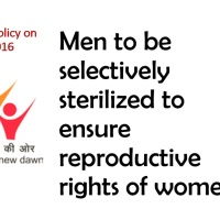New Policy To Focus On Selective Male Sterilization