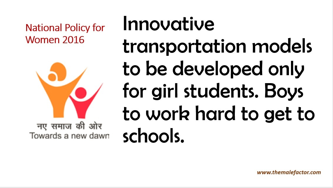 National policy on women_Transportation