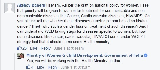 WCD Ministry to prioritize women's health