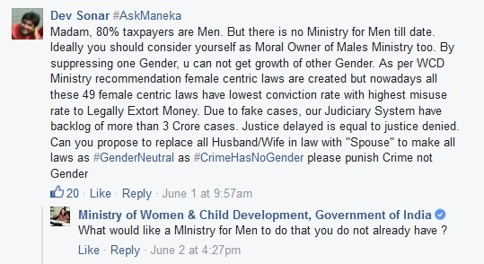 WCD Minister on men's ministry