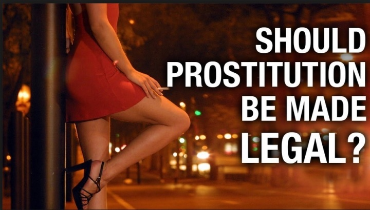 Prostitution, legality of prostitution, should prostitution be made legal