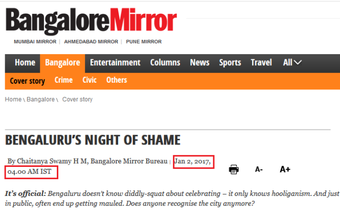 bangalore-mirror on Bangalore Mass Molestation