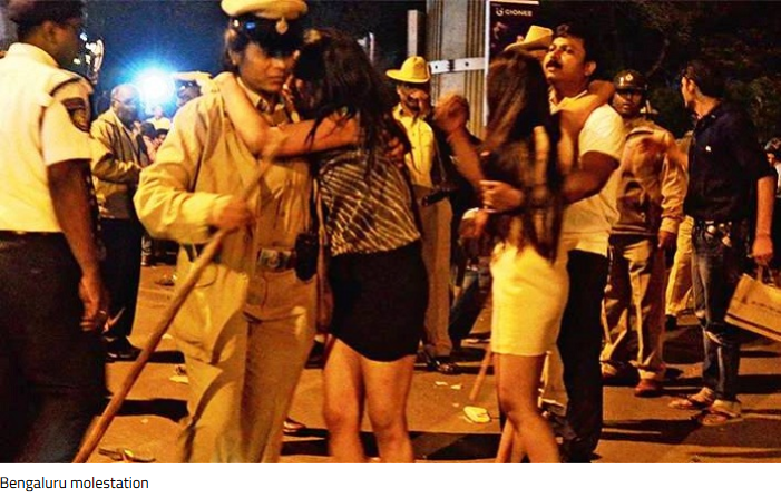 drunken-men-grope-women10 - Bangalore Mass Molestation