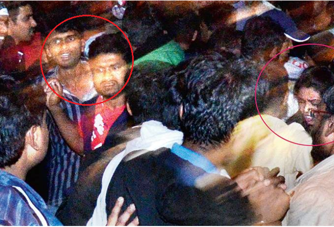 drunken-men-grope-women - Bangalore Mass Molestation