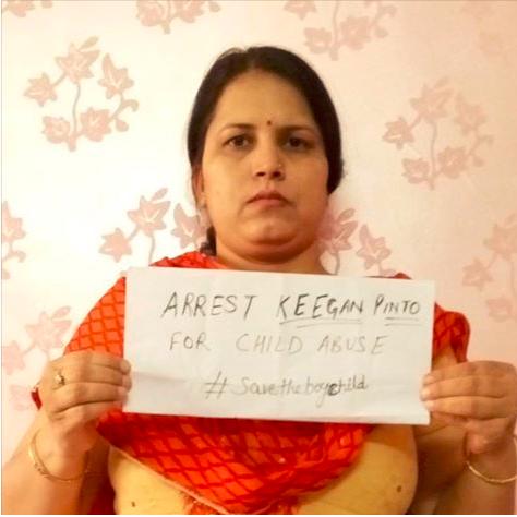 Jyoti Tiwari, Arrest Keegan Pinto