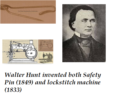 Safety Pin Sewing Machine