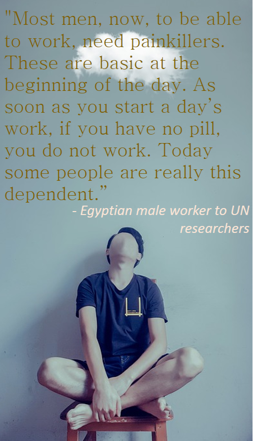 Egyptian worker